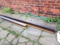 Steel I beams 5ft and 10ft