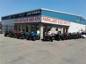 POLARIS SPORTSMAN-FACTORY CLEARANCE! STARTS AT $49 BI WKLY