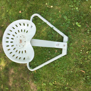 Unique tractor seat chair