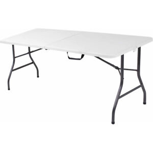 buying  resin folding 6ft tables- i pay $30 ea seen in pictures