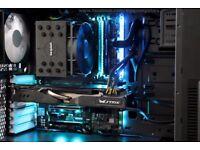 Gaming PC i7-6700k, Z270X,GTX980, 16GB RAM,120GB SSD, 1TB HDD, Gaming Case