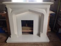 Sandstone effect Fireplace Surround, Hearth & Backplate JUST REDUCED