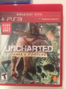 Uncharted 1 / Uncharted 2 / Uncharted 3 pour PS3