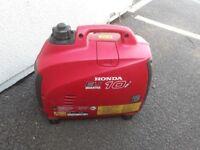 Honda EU10i silent generator hardly used