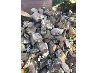 Free - Stone/Rock - Garden wall - 10Ton+