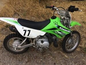 2013 Kawasaki KLX 110 for sale