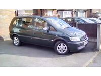 Vauxhall Zafira 1.6 9 months M.O.T