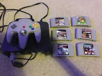N64 Nintendo 64 console and games bundle - retro gaming