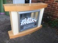 Electric fireplace. Perfect condition