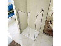 GLASS PANEL FOR SHOWER ROOM
