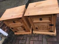Bedside Tables - Corona Pine