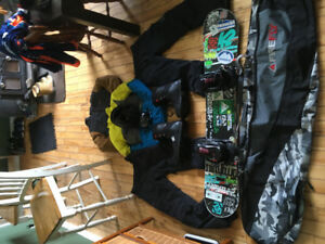 FULL SNOWBOARD PACKAGE