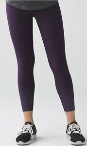Reflective lululemon running leggings