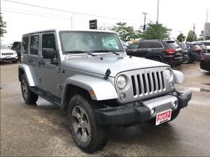 2017 Jeep WRANGLER UNLIMITED LEATHER*3.73 AXLE*ANTI SPIN*9 SPKRS