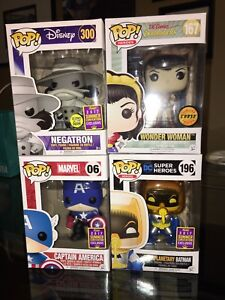 Funko Pop! SDCC Exclusives / Chase