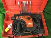 Hilti TE 40 AVR 110v Combi Hammer Drill / Breaker Plus new Chisels