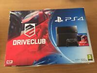 PS4 driveclub edition console and 7 games boxed