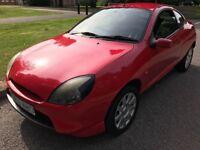 Ford Puma 1.7 16V 1679cc Petrol 5 speed manual 3 door hatchback W reg 21/07/2000 Red