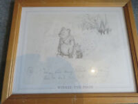 Set of Winnie the Pooh prints
