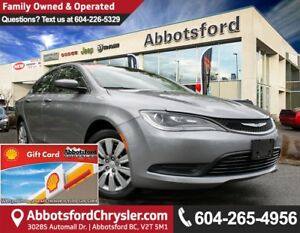 2016 Chrysler 200 LX Like New X-Demo Vehicle!