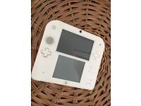 Nintendo 2DS-Red and White