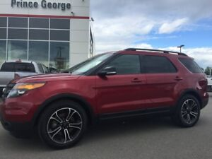2015 Ford Explorer Sport W/DVD's/Sunroof & NAV