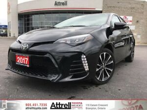 2017 Toyota Corolla SE Upgrade Package. Alloys, Moonroof, Heated