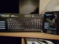 Roccat Arvo gaming keyboard & Kova gaming mouse