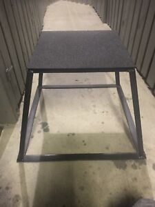 PLYOMETRIC PLATFORM BOX/STEP UP BENCH