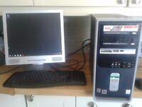 Compaq Presario PC with Windows 10
