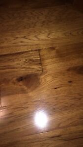Solid Hickory Flooring