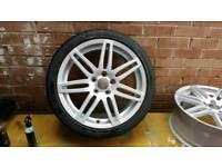 "Genuine 18"" Audi Rs4 S3 Ronal alloy wheels"