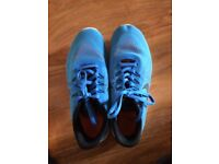 Blue Nike Free RUN Junior Size 5 (Great Condition) No box included
