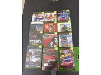 12 x X Box games