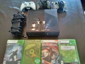 XBOX 360 Bundle - three controllers, four games