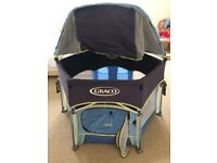 Graco sports play pack with shade