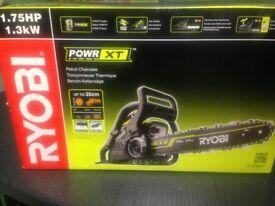 RYOBI POWER XT petrol chainsaw