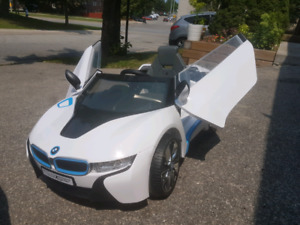 BMW i8 Kids Ride-on Toy. Battery-powered.
