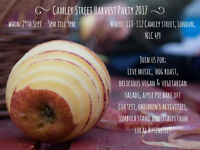 Camley Street Harvest Party