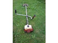 petrol strimmer / brushcutter makita robin heavy duty handlebar type starts first time