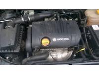 SRI 1.8 16v Z18XE COMPLETE ENGINE