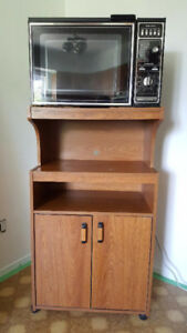 Kitchen Microwave Stand $20