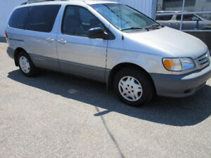 2002 Toyota Sienna-SAFETY CERTIFIED&E-TESTED,DUAL CLIMATE $2850