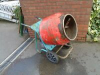 belle cement mixer