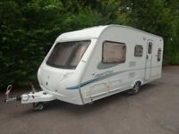 Abbey Freestyle Fixed Bed Caravan 2006 With Motor Movers
