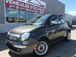 Fiat 500c 2dr Conv Lounge+CONVERTIBLE+MAGS+A/C+GR.ELEC+WOW! 2014