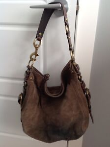 Coach Suede Purse