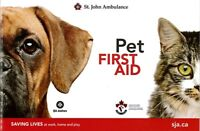 St. John Ambulance Pet First Aid Course