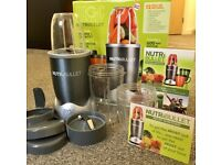 *FAULTY - SPARES - REPAIRS* FULLY BOXED NUTRIBULLET WITH ALL ACCESSORIES!