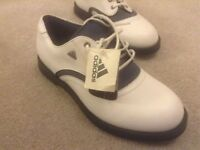 new size 4 adidas golf shoes